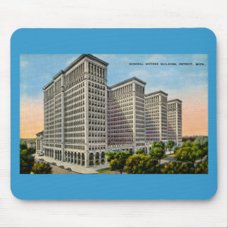 General Motors som bygger, Detroit, Michigan Mus Mattor