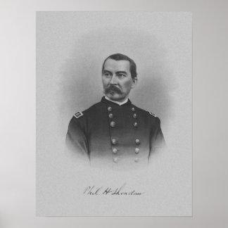 General Philip Sheridan -- Inbördeskrig Poster