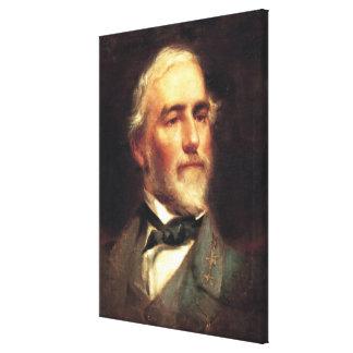 General Robert E. Lee av Edward Caledon Bruce Canvastryck