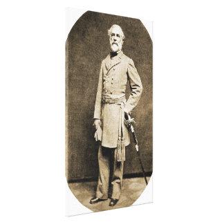 General Robert E. Lee i tryck 1863