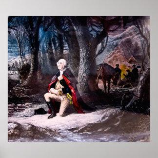 General Washington Be på dalsmedjan, PA Poster