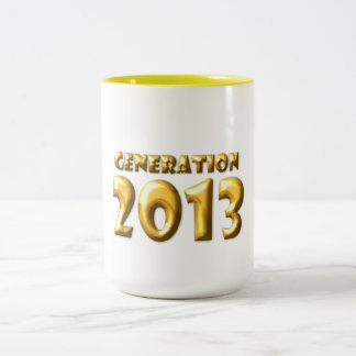 Generation 2013 Två-Tonad mugg