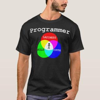 Genomskärning av Laziness, expertis, kaffe T Shirts