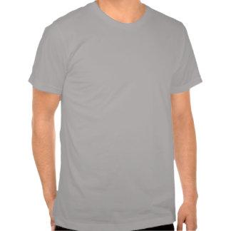 Genomskinlig skallespade tee shirt