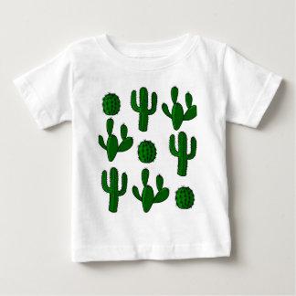 Genomskinligt kaktusmönster - t shirt