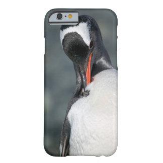 Gentoo pingvin i den Neko hamnen Antarktis Barely There iPhone 6 Skal