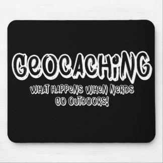 Geocaching, vad händer, när Nerds går utomhus Musmatta
