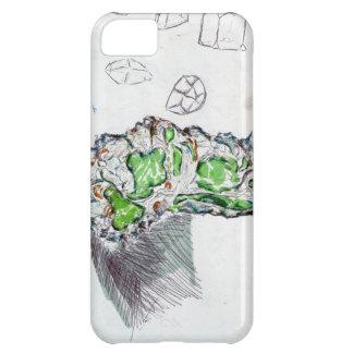 Geologi som kallar geometri iPhone 5C fodral