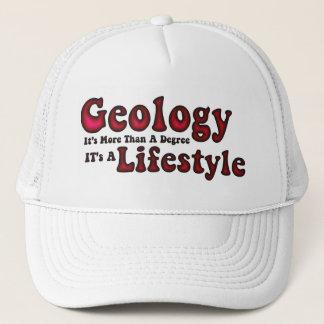 Geologilivsstillock Truckerkeps