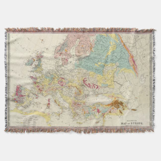 Geologisk karta Europa Filt