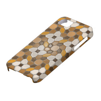 Geometri i bruntet (sunbursten) iPhone 5 hud