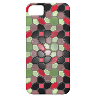 Geometri i multifärgaden (sunbursten) iPhone 5 cover