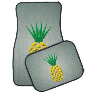 Geometrisk ananas bilmatta