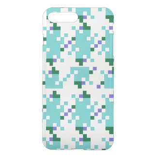 Geometrisk Aqua iPhone 7 Plus Skal