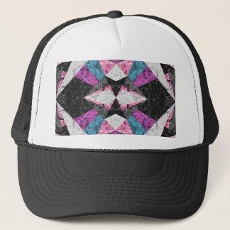 Geometrisk bakgrund G438 för hattmarmor Keps