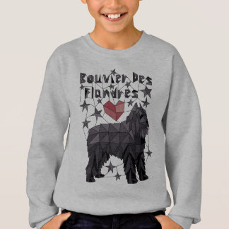 Geometrisk Bouvier Des Flandres Tshirts