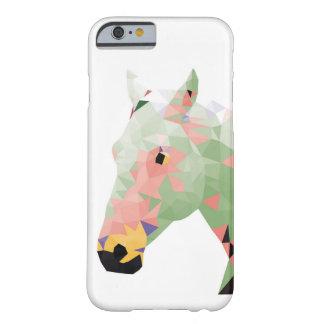 Geometrisk färgrik häst barely there iPhone 6 skal