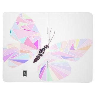 Geometrisk fjäril anteckningsbok