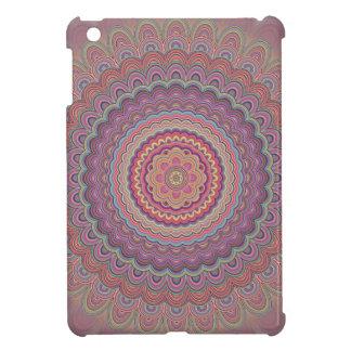 Geometrisk mandala för Hippie iPad Mini Skydd
