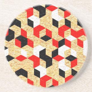 Geometrisk prismadesign underlägg