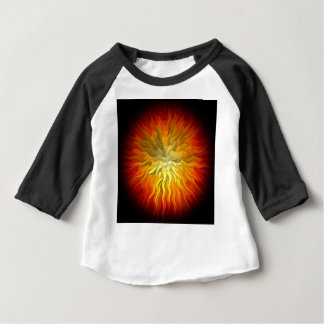 geometrisk sol 76x76 t shirt