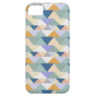 Geometrisk triangel för Seashore iPhone 5 Hud