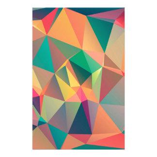 Geometriska älskare brevpapper