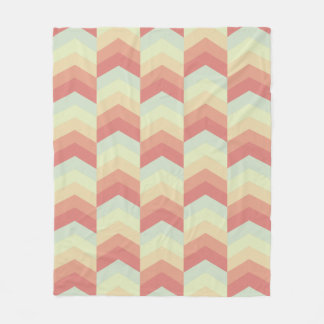 Geometriska färger för pastell för fleecefilt
