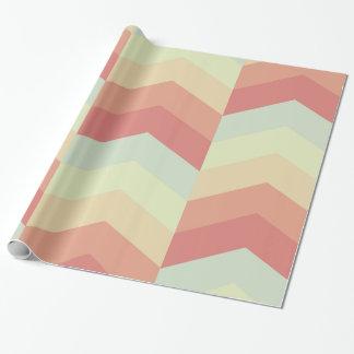 Geometriska färger för pastell för presentpapper