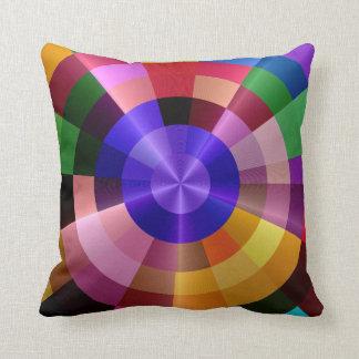 Geometriska färger kudde