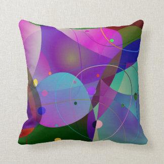 Geometriska Shapar för färgrik abstrakt konst Kudde