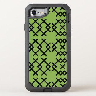 Geometriska Shapar för stam- grönskagröntNomad OtterBox Defender iPhone 7 Skal
