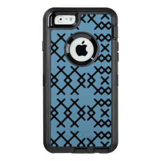 Geometriska Shapar för stam- Niagara blåttNomad OtterBox iPhone 6/6s Fodral
