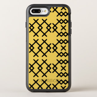 Geometriska Shapar för stam- PrimrosegultNomad OtterBox Symmetry iPhone 7 Plus Skal