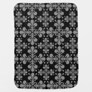 Geometriskt damastast mönster för elegant gotisk
