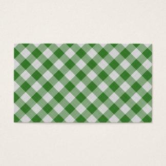 geometriskt färgrikt mönster för bomull visitkort