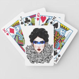 """""""Geometriskt förse med krage"""" leka kort Spelkort"""