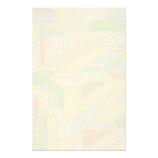 Geometriskt mönster 3 brevpapper