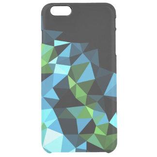 Geometriskt mönster clear iPhone 6 plus skal