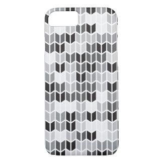 Geometriskt mönster för grå färg