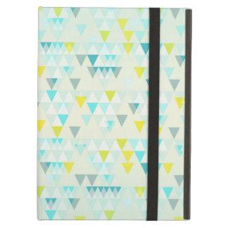 Geometriskt mönster för gult för vit för triangelA iPad Air Skydd