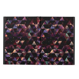 Geometriskt mönster för Starry galax Fodral För iPad Air