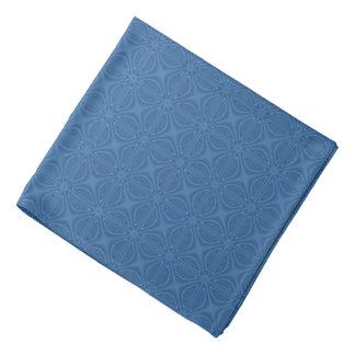 Geometriskt mönster för subtil blåttzickzackmönste kerchief för huvud