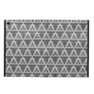 Geometriskt mönster för svartvit triangel powis iPad air 2 skal