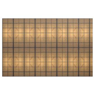 Geometriskt upplyst kvadrerar abstrakt tyg