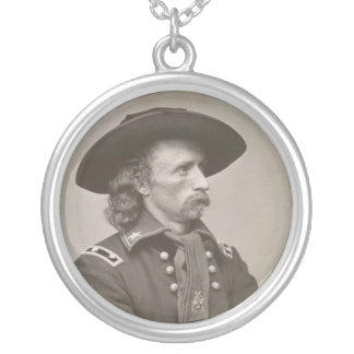 George Armstrong Custer Silverpläterat Halsband
