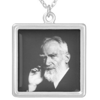 George Bernard Shaw Silverpläterat Halsband
