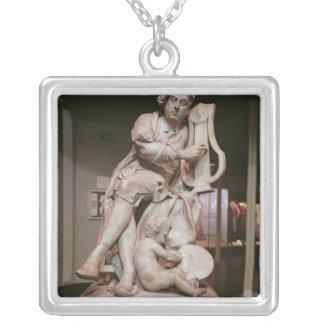 George Frederick Handel 1738 Silverpläterat Halsband