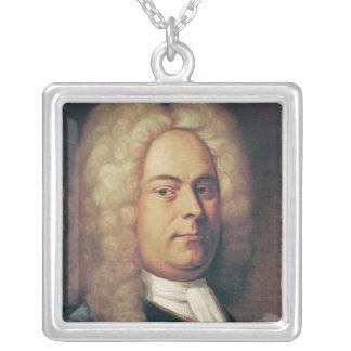 George Frederick Handel Silverpläterat Halsband