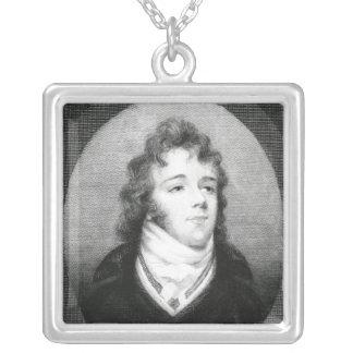 """George """"friare"""" Brummel Silverpläterat Halsband"""